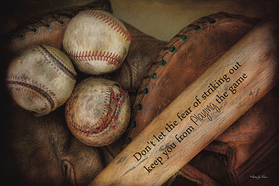 Robin-Lee Vieira RLV506 - Play Ball - Baseball, Bat, Sports, Inspirational from Penny Lane Publishing
