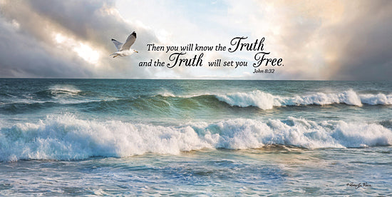 Robin-Lee Vieira RLV533 - The Truth - Birds, Faith, Ocean, Waves, Coastal, Inspirational from Penny Lane Publishing