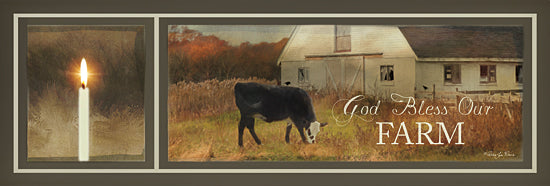 Robin-Lee Vieira RLV537 - God Bless Our Farm - Candle, Cow, Landscape, Inspirational, Farm Life, Animals, Signs, Photography from Penny Lane Publishing