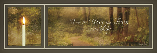 Robin-Lee Vieira RLV539 - I Am the Way - Candle, Trees, Path, Landscape, Inspirational, Farm Life, Animals, Sign, Photography, Religious from Penny Lane Publishing