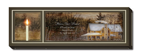 Robin-Lee Vieira RLV543 - God Bless Our Home - Candle, House, Path, Landscape, Inspirational, Sign, Photography, Religious from Penny Lane Publishing
