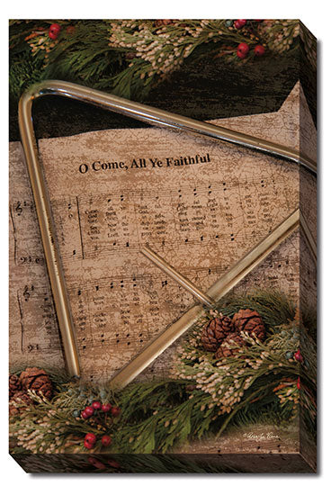 Robin-Lee Vieira RLV585 - All Ye Faithful - Christmas, Triangle, Instrument, Music, Photography from Penny Lane Publishing