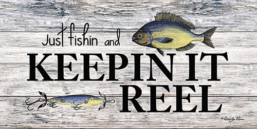 Robin-Lee Vieira RLV592 - Keepin' It Reel - Fish, Signs from Penny Lane Publishing