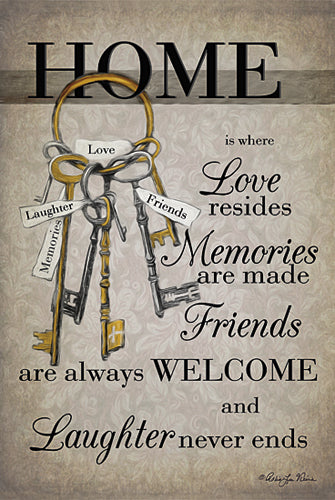 Robin-Lee Vieira RLV609 - House Keys - Home, Key, Signs from Penny Lane Publishing