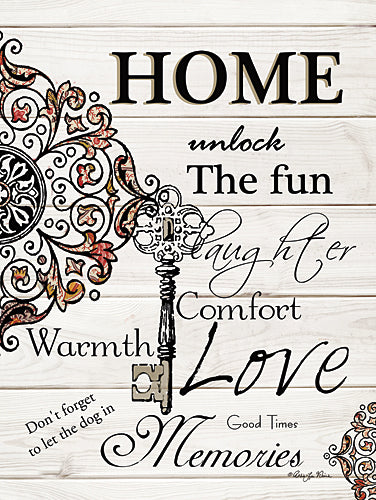 Robin-Lee Vieira RLV635 - Home - Home, Key, Design, Signs from Penny Lane Publishing
