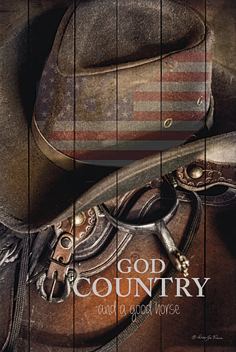 Robin-Lee Vieira RLV641 - God Country - Cowboy, America from Penny Lane Publishing