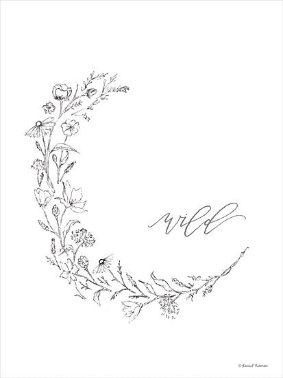 Rachel Nieman RN110 - RN110 - Wild Flowers - 12x16 Flowers, Greenery, Calligraphy, Signs, Wild from Penny Lane