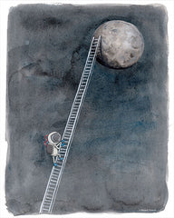 RN122 - Ladder to the Moon - 12x16