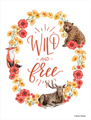 RN175 - Wild and Free Wreath    - 12x16