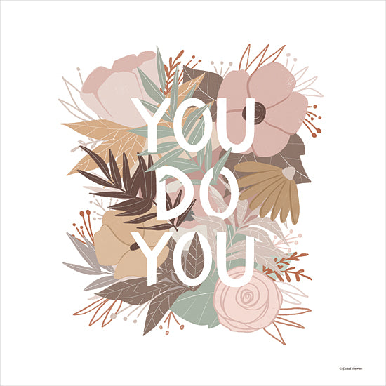 Rachel Nieman RN234 - RN234 - You Do You - 12x12 You Do You, Flowers, Neutral Palette, Bouquet from Penny Lane