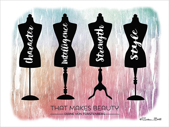 Susan Ball SB337A- Beauty Is É - Quote, Dress Forms, Beauty from Penny Lane Publishing