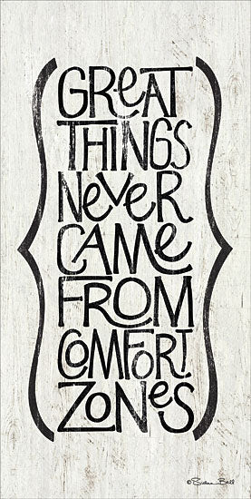 Susan Ball SB383 - Comfort Zone - Tween, Typography, Inspirational from Penny Lane Publishing