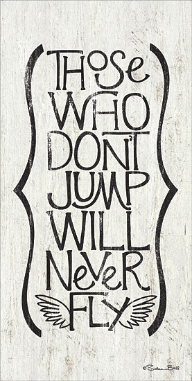 Susan Ball SB385 - Those Who Don't Jump - Tween, Typography, Inspirational from Penny Lane Publishing