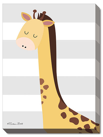 Susan Ball SB444A - Giraffe Stripe - Giraffe, Kids, Children, Animals from Penny Lane Publishing