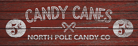 Susan Ball SB517 - Candy Canes - Candy Canes, Holiday, Signs from Penny Lane Publishing