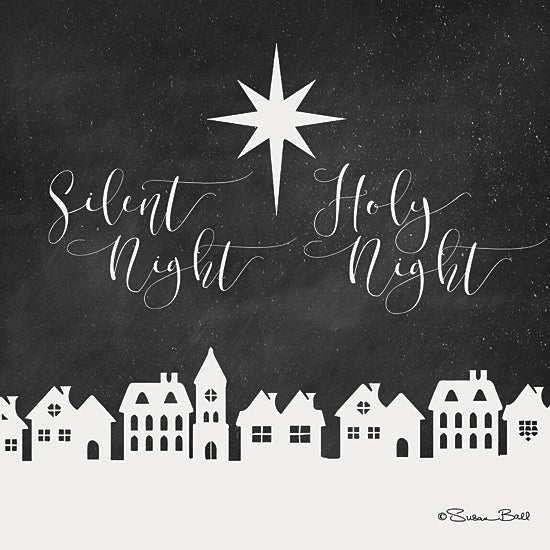 Susan Ball SB521 - Silent Night, Holy Night   - Nativity, Holiday, Homes, Typography, Star from Penny Lane Publishing