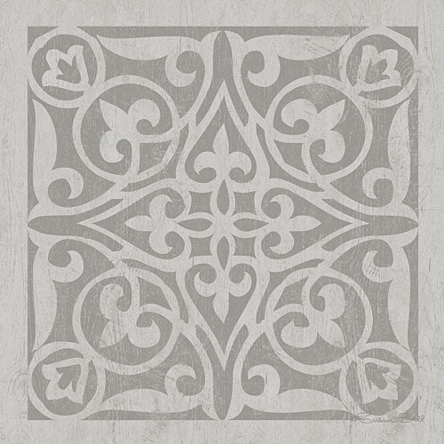Susan Ball SB529 - Tile in Gray I - Tile, Gray from Penny Lane Publishing