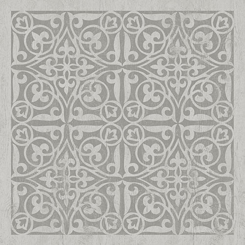 Susan Ball SB530 - Tile in Gray II - Tile, Gray from Penny Lane Publishing