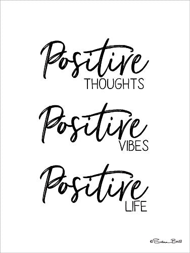 Susan Ball SB540 - Positive Life - Typography, Signs, Inspirational from Penny Lane Publishing