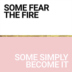 SB787 - Become the Fire - 12x12