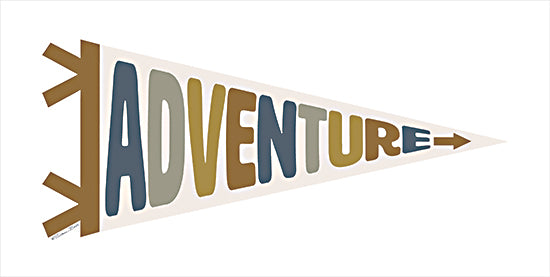 Susan Ball SB875 - SB875 - Adventure Pennant - 18x9 Pennant, Tween, Banner, Adventure from Penny Lane