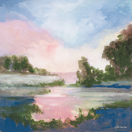 Stellar Design Studio SDS207 - SDS207 - Pastel Countryside 1   - 12x12 Countryside, Landscape, Trees, Coastal, Sunset from Penny Lane