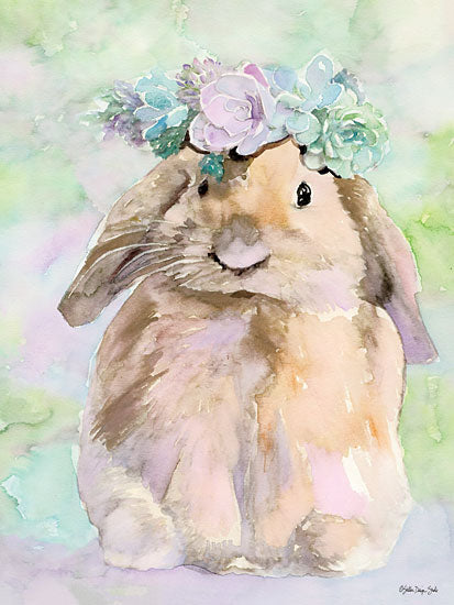 Stellar Design Studio SDS292 - SDS292 - Bunny Bella - 12x16 Rabbit, Bunny, Floral Head Wreath from Penny Lane