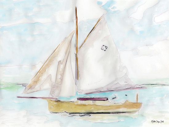 Stellar Design Studio SDS310 - SDS310 - Sailing 2 - 16x12 Sailboat, Nautical, Coastal, Hobbies from Penny Lane