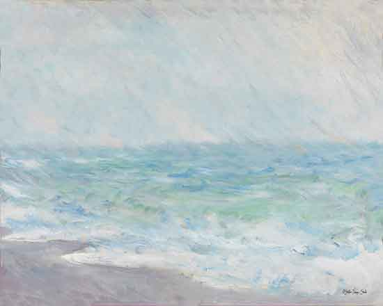 Stellar Design Studio SDS421 - SDS421 - Monet's Ocean View - 16x12 Abstract, Ocean, Coastal, Landscape from Penny Lane