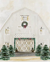 SDS503 - Christmas Barn   - 12x16