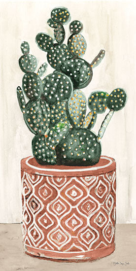 Stellar Design Studio SDS616 - SDS616 - Cactus in Pot 1 - 9x18 Cactus, Southwestern, Clay Pot from Penny Lane