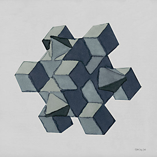 Stellar Design Studio SDS772 - SDS772 - Geo 4 - 12x12 Abstract, Geometric, Black & White from Penny Lane