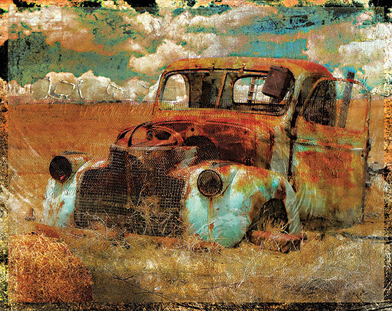 Sophie 6 SIX408 - SIX408 - Abandoned - 16x12 Abandoned Car, Car, Rusty Car, Masculine, Photography, Color Bakery from Penny Lane