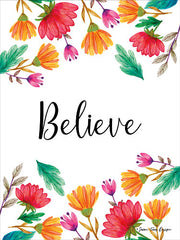 ST100 - Floral Believe - 12x16