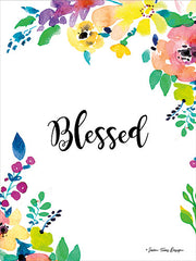 ST101 - Floral Blessed - 12x16