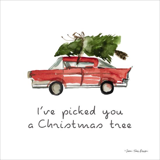 ST351 - I've Picked You a Christmas Tree - 12x12