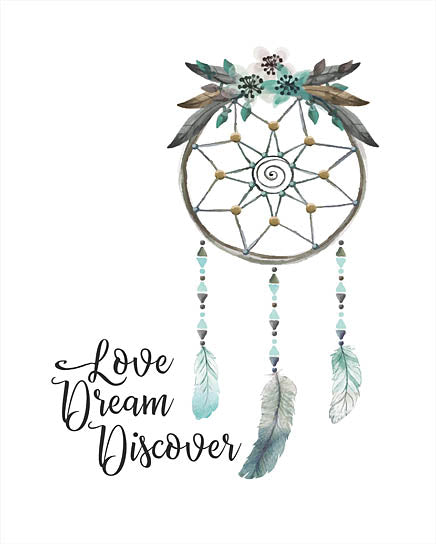 Seven Trees Design ST361 - ST361 - Watercolor Dreamcatcher - 12x16 Signs, Typography, Dreamcatcher, Watercolor from Penny Lane