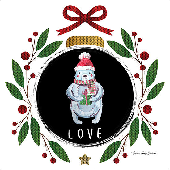 ST433 - Love Christmas Ornament