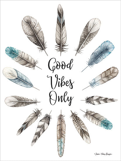 ST440 - Good Vibes Only - 12x16