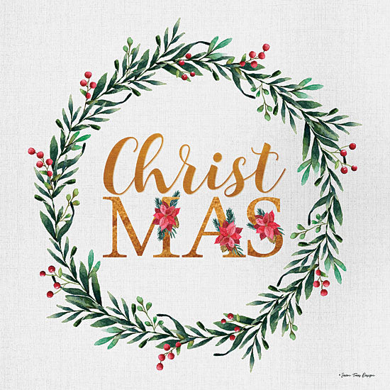 Seven Trees Design ST645 - ST645 - ChristMAS - 12x12 Signs, Typography, Christmas, Wreath, Poinsettias, Christmas Ivy from Penny Lane