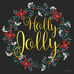 ST650 - Holly Jolly Wreath     - 12x12