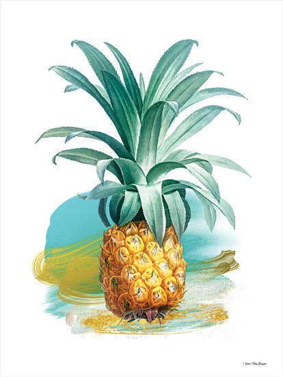 Seven Trees Design ST763 - ST763 - Pineapple II - 12x16 Pineapple, Tropical, Fruit from Penny Lane
