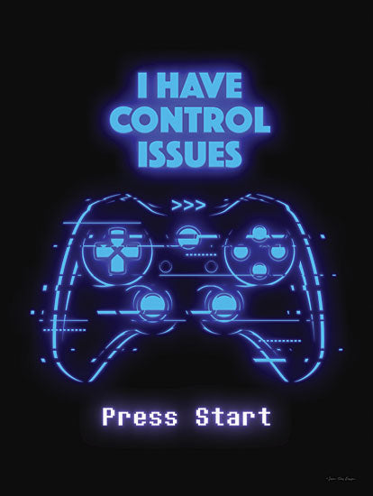 Seven Trees Design ST878 - ST878 - Gamer Control Issues     - 12x16 Gamer Control Issues, Gamer, Game Controller, Masculine, Humorous, Video Games from Penny Lane