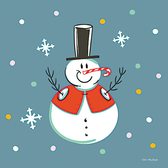Seven Trees Design ST896 - ST896 - The Happy Snowman - 12x12 Snowman, Seasons, Winter from Penny Lane
