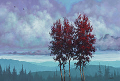 TGAR113 - Two Red Trees - 18x12