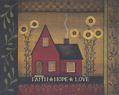 TLC151 - Faith * Hope * Love - 20x16