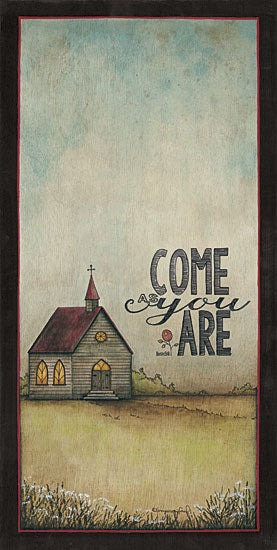 Tonya Crawford TLC362 - Come As You Are - Church, Field, Typography from Penny Lane Publishing