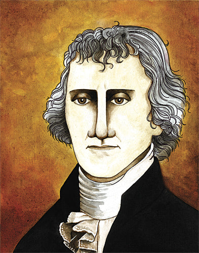 Tonya Crawford TLC386 - Thomas Jefferson - Thomas Jefferson, Figurative, History from Penny Lane Publishing