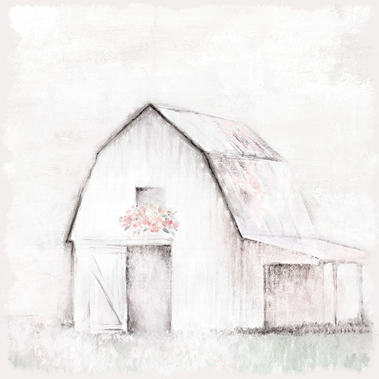 White Ladder WL136 - WL136 - Pastel Barn - 12x12 Barn, Farm, Pastel Barn, Abstract from Penny Lane
