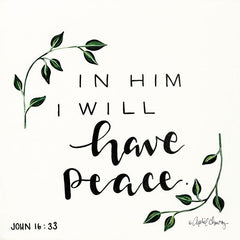 AC110 - In Him I will have Peace   - 12x12